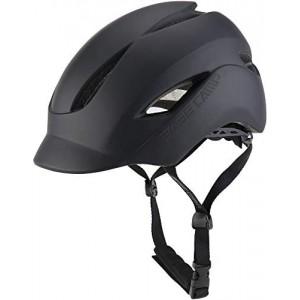 Adult Bike Helmet with Rear Light for Urban Commuter Adjustable Free Size